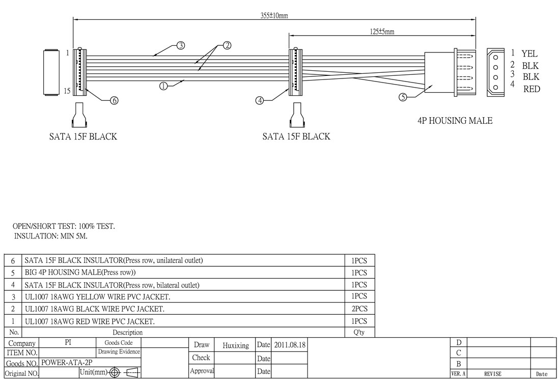 Internal Computer Components Molex M F Ra Y Power Supply Db37 Cable Wiring Diagram Click Here To Download The Spec Sheet